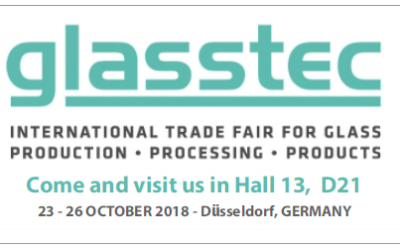 25th GLASSTEC, 23-26 OCTOBER 2018